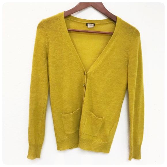 J. Crew Sweaters - J. Crew wool alpaca cardigan sweater XS 8800ac9ae